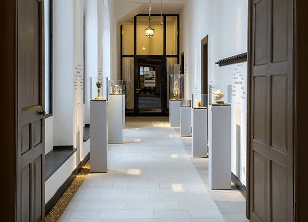 Blick in einen Gang des Westpreußischen Landesmuseums