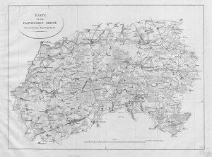 Historische Karte vom Kreis Flatow