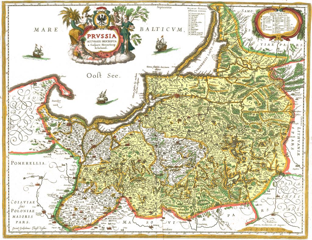 Das untere Weichselland im späteren 16. Jahrhundert