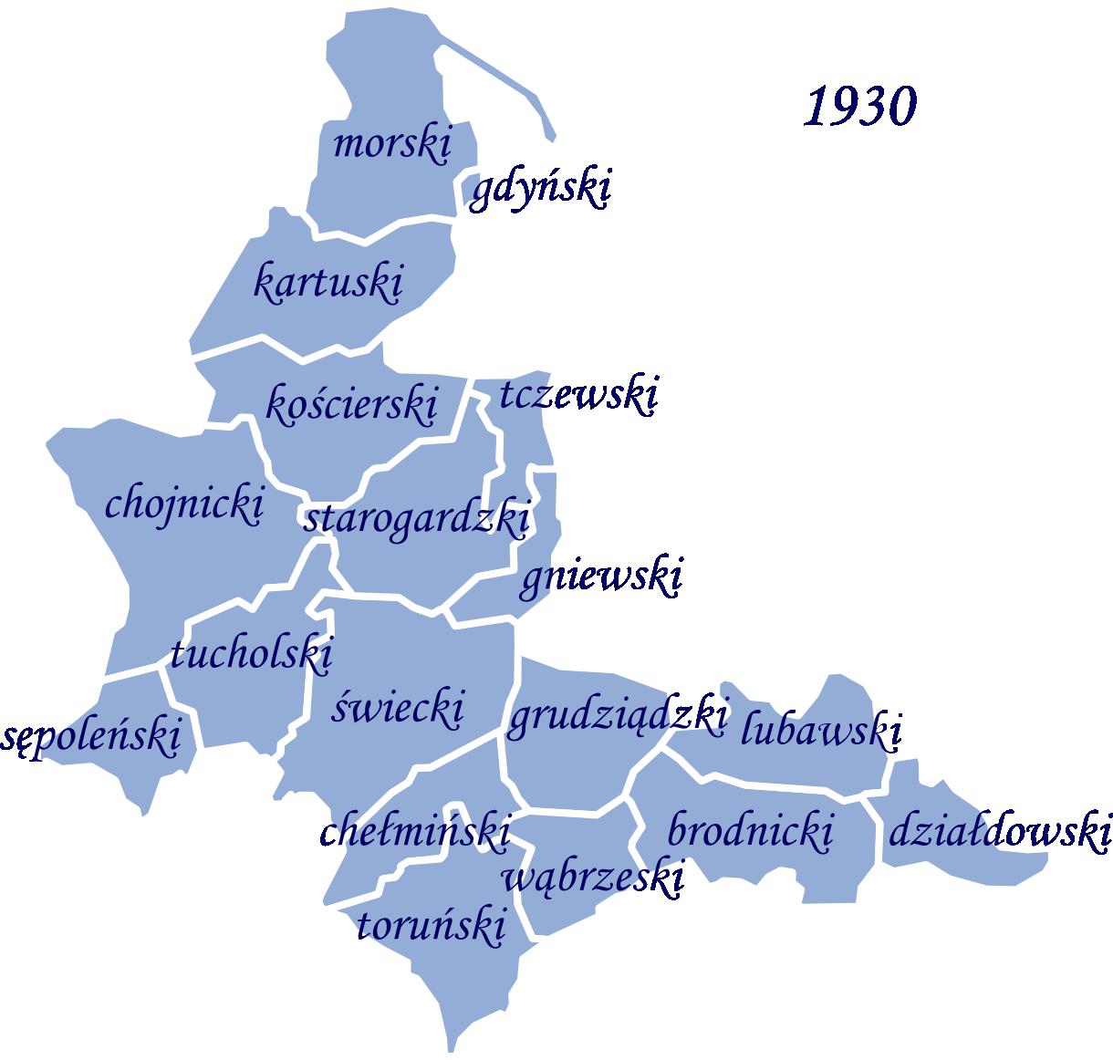 Die Woiwodschaft Pommerellen