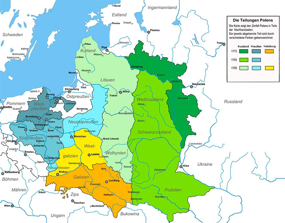 Die Teilungen Polens
