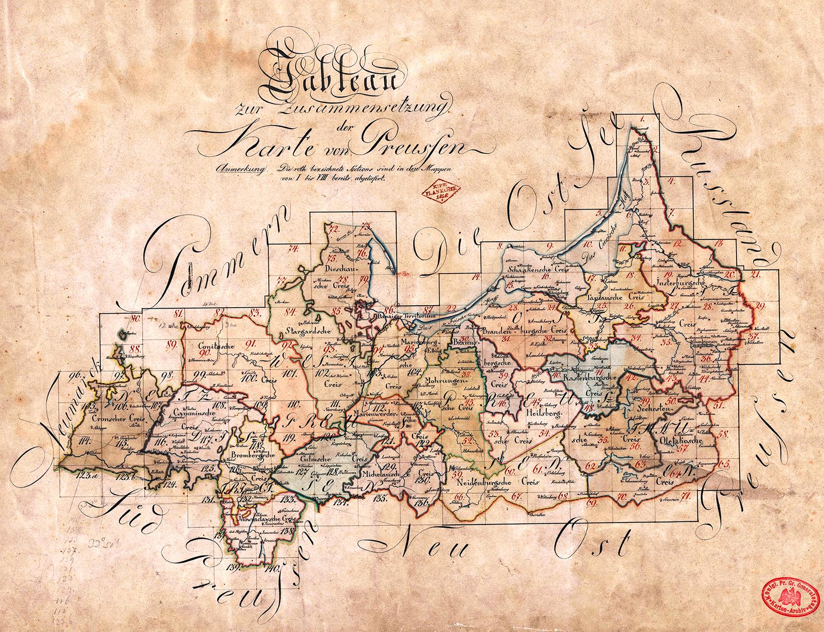 """Das neue Gebiet """"Westpreußen"""" und seine erste Gliederung"""