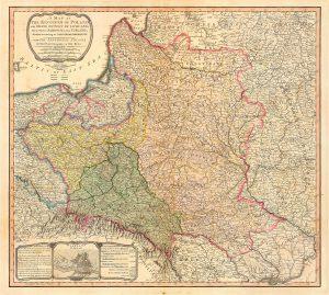"""Die """"Zerstückelungen"""" (Dismemberments) Polens durch die Dritte Teilung (1795)"""