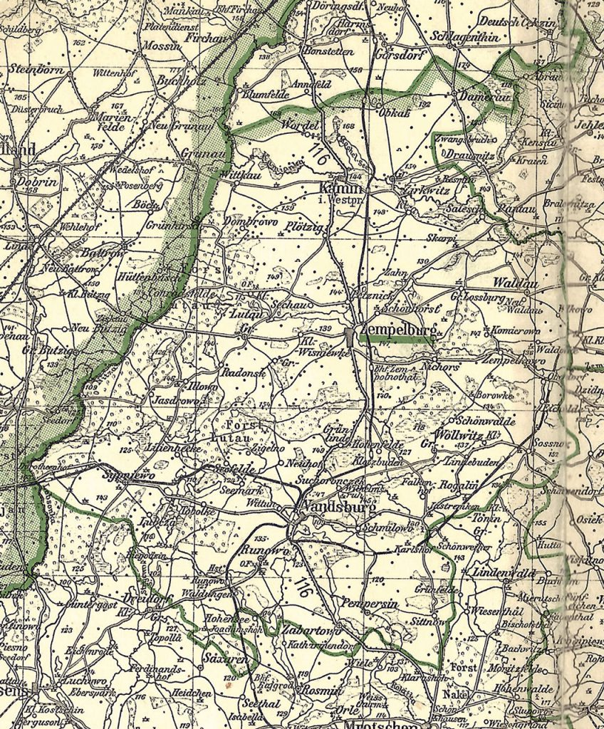Kreis Zempelburg 1942