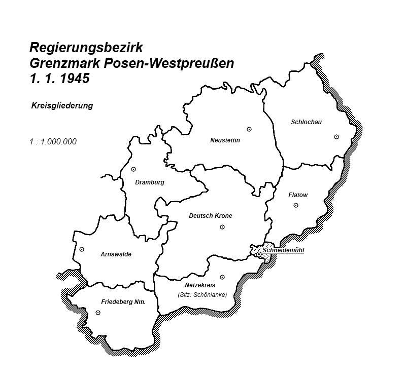 Regierungsbezierk Grenzmark Posen-Westpreußen