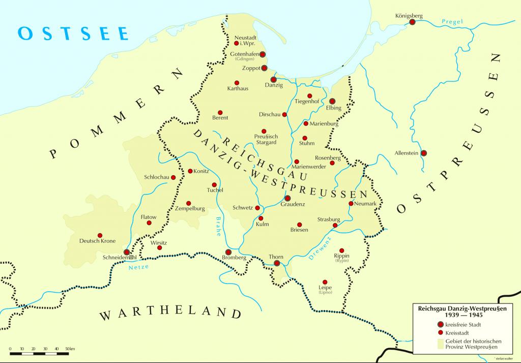 Der Reichsgau Danzig-Westpreußen